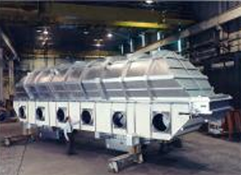 Carrier Vibrating Fluid Bed Dryers